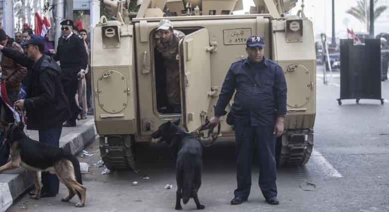مصر: مصرع ضابطين بانفجار عبوتين ناسفتين بمحيط قصر الاتحادية الرئاسية
