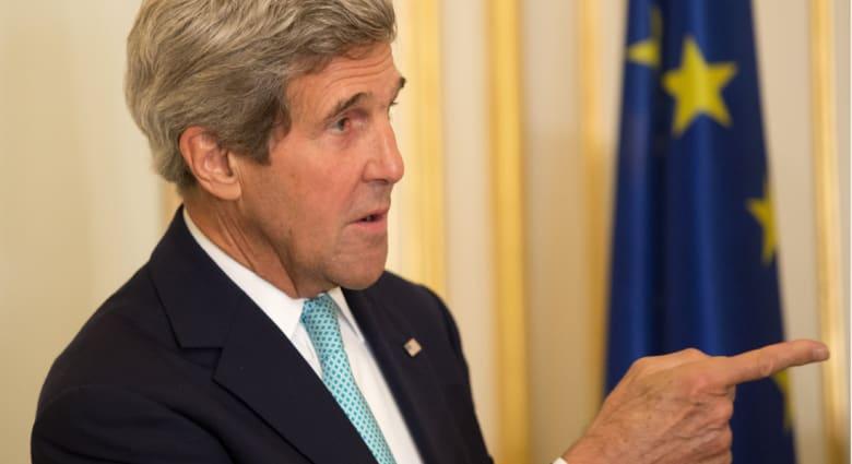 مصدر.. كيري يدين بمكالمة هاتفية مع نتنياهو صواريخ غزة ويؤكد على حق إسرائيل بالدفاع عن نفسها