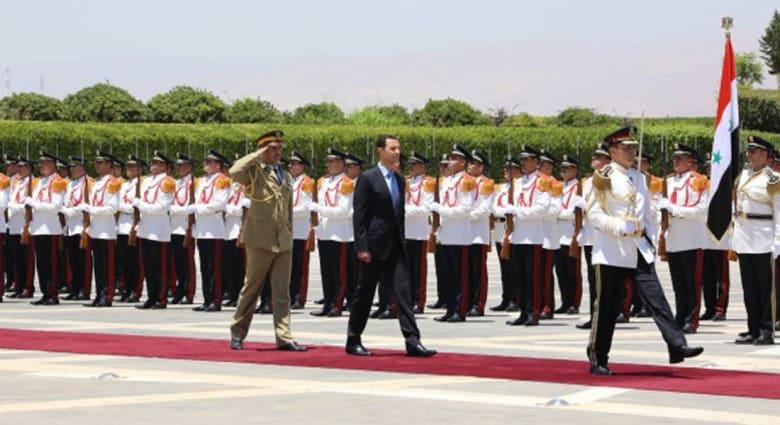 """الأسد بخطاب القسم يعلن الانتصار وموت """"الربيع العربي"""" ويهاجم أردوغان و""""العنتريات والبندريات"""""""