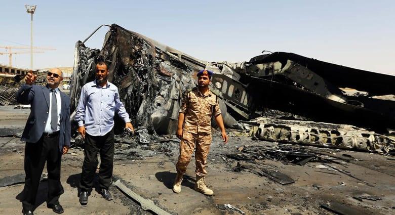 هجوم انتحاري على قاعدة للجيش الليبي في بنغازي يسفر عن مقتل أربعة