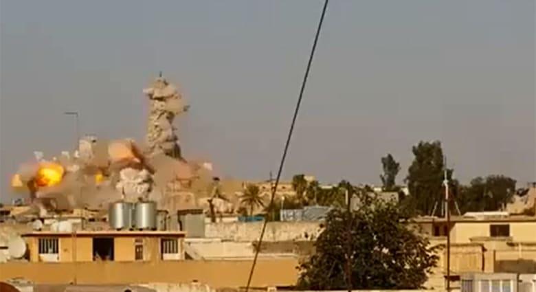 """الشيخ السعدي يستنكر تفجير مسجد النبي يونس بالموصل.. وداعش تعيد السبب إلى """"ممارسة السحر"""""""