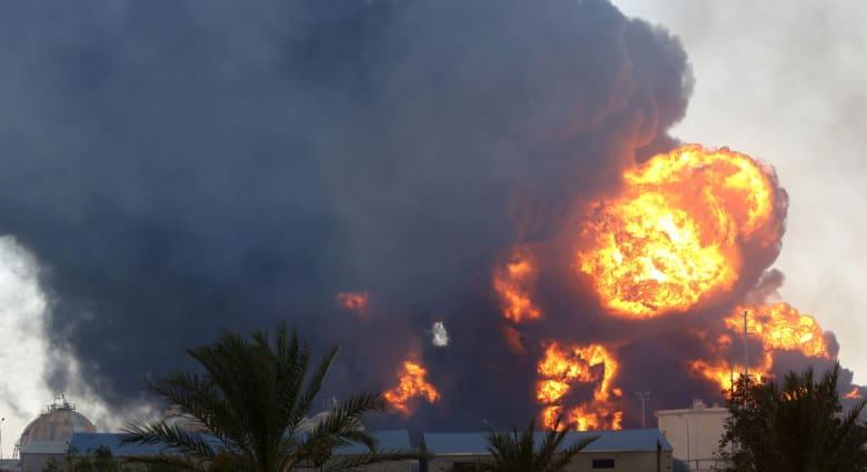 ليبيا: 22 قتيلا و73 جريحا في اشتباكات.. ودخان الحرائق الكثيف يغطي طرابلس