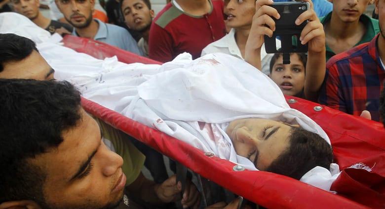 """صحف: الموت في غزة """"عادي"""" وداعش يبيع """"نساء الطوائف"""""""