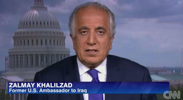 """زلماي خليل زاد لـCNN: لجوء المالكي للقوة """"خطأ كارثي"""" وعلى أمريكا تسليح الأكراد والمعتدلين السنّة"""