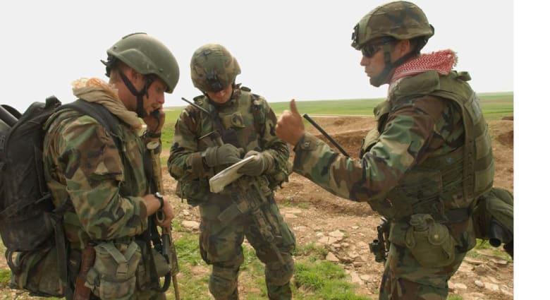 قوة خاصة أمريكية قضت 24 ساعة على قمة جبل سنجار وCNN علمت بهم منذ الثلاثاء