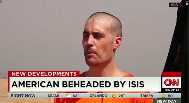 عائلة الصحفي الأمريكي المقتول استلمت رسالة من خاطفيه قبل أسبوع من قتله