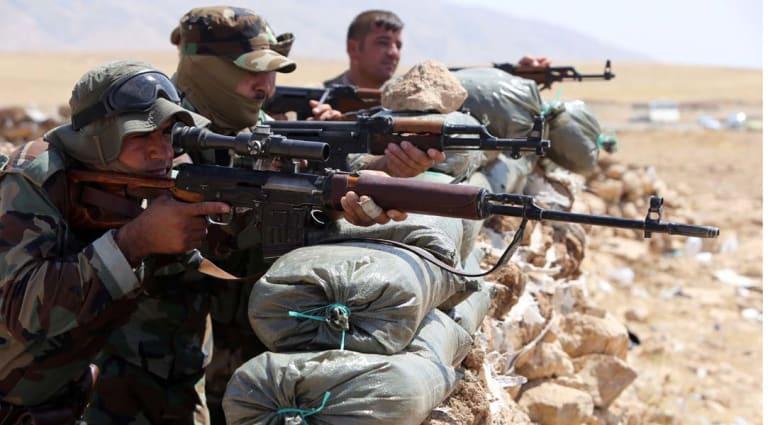 """البيشمرغة: لقنا """"داعش"""" درساً قاسيا .. استعدنا عدة بلدات ونتهيأ  لدخول جلولاء"""