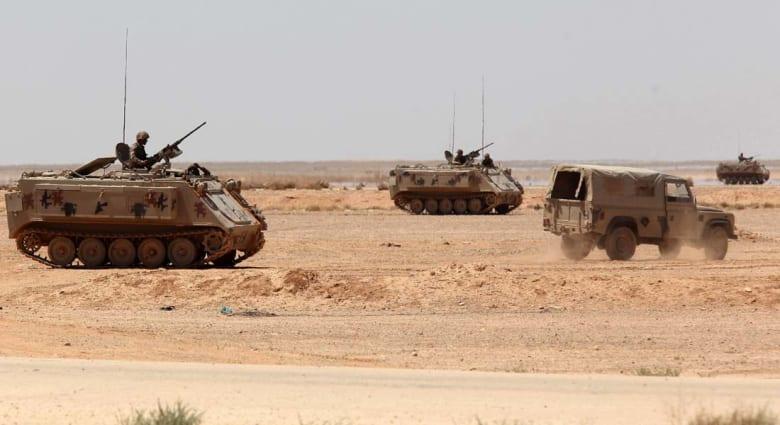 إحباط هجوم لمجموعة مسلحة على الحدود الأردنية وقتل واعتقال المهاجمين