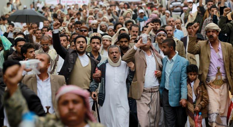 اليمن.. زعيم جماعة الحوثي يدعو اليمنيين الى مرحلة جديده بمواجهة الدولة