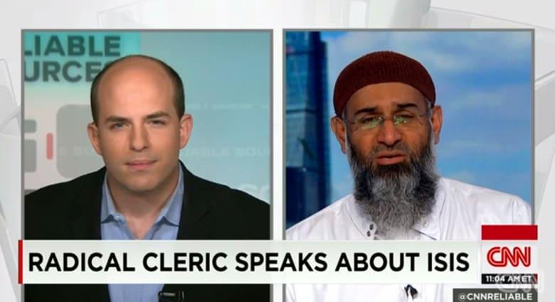 مشادة على الهواء بين مذيع CNN وداعية بريطاني متشدد حول داعش وقطع الرؤوس وفسطاطي الله والشيطان