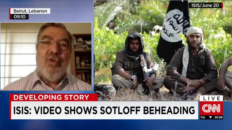 رامي خوري لـCNN: داعش ولد بسجون السعودية ومصر والأردن وتونس ومواجهته تتطلب تغيّر الأنظمة الديكتاتورية والملكية