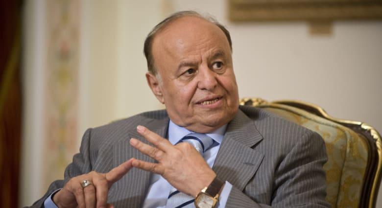 اليمن.. هادي يحذر الحوثيين من استمرار التصعيد