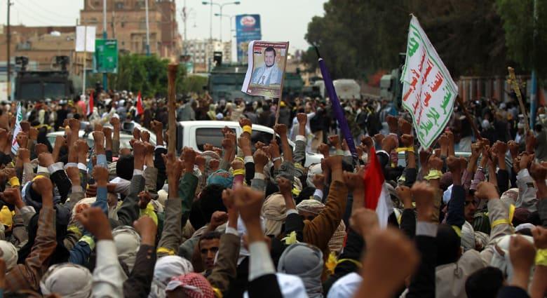 اليمن: قصف جوي لمواقع الحوثيين بالجوف لليوم الثاني وهدوء حذر في صنعاء