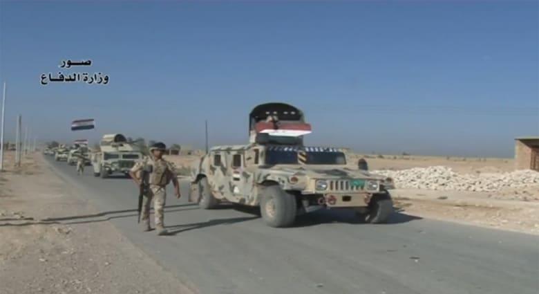 بالفيديو.. الجيش العراقي يطهر الالوس بالأنبار من عناصر داعش