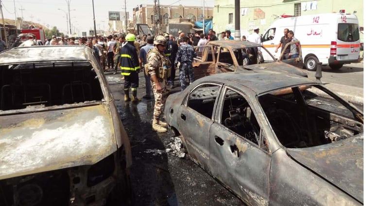العراق: 13 قتيلا وعشرات الجرحى في سلسلة انفجارات في بغداد وكركوك والمحمودية