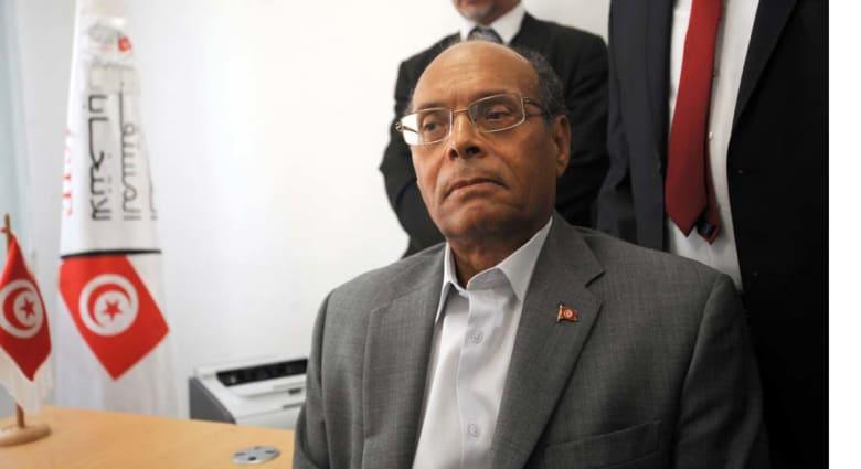 المرزوقي يقدم ملف ترشحه للرئاسة : المال الفاسد أخطر على تونس من الإرهاب
