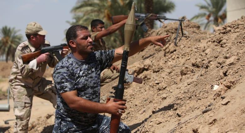 """العراق: جثث مقاتلي داعش تنتشر بشوارع دجلة ووعود بـ""""زف البشرى"""" بعيد الاضحى"""