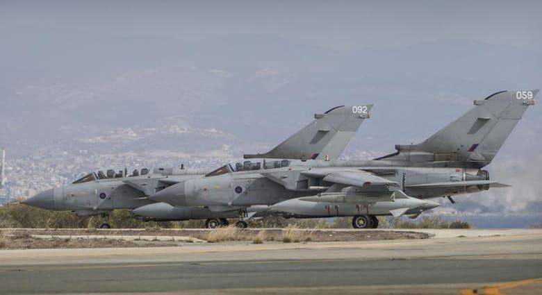 """بعد تفويض البرلمان بمحاربة """"داعش"""" طائرات تورنادو بريطانية توجهت للعراق من قبرص"""