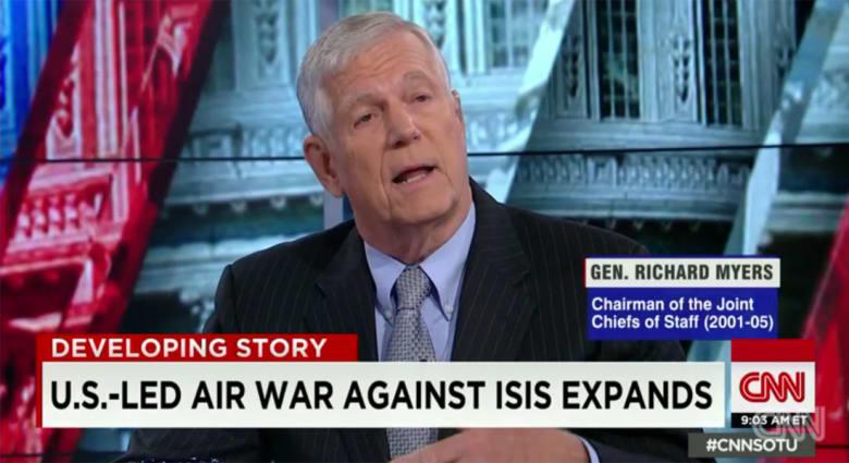 رئيس هيئة الأركان الأمريكية الأسبق لـCNN: الضربات الجوية لا تكفي ضد داعش.. للنجاح علينا وقف تدفق الراغبين بالجهاد