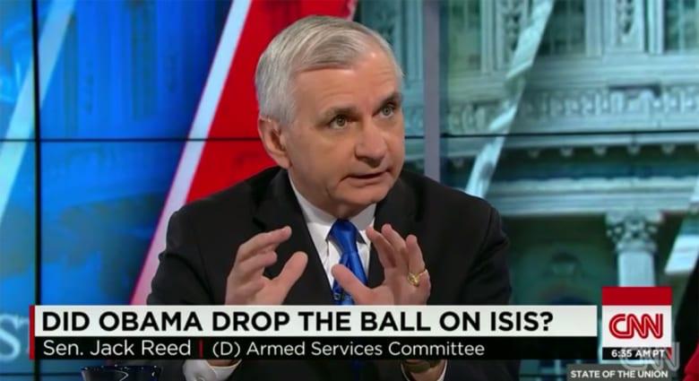 رييد لـCNN: خطة أوباما ضد داعش منطقية والقوات العراقية على الأرض أفضل من قوات أمريكية مؤقتة
