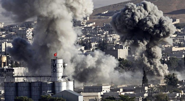 """غارات التحالف تفشل في وقف تقدم داعش بسوريا والعراق واستغاثة """"شبه يائسة"""" من المبعوث الدولي لإنقاذ كوباني"""