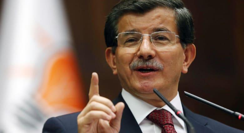 رئيس وزراء تركيا: نطالب بمنطقة آمنة بسوريا وليس منطقة عسكرية عازلة