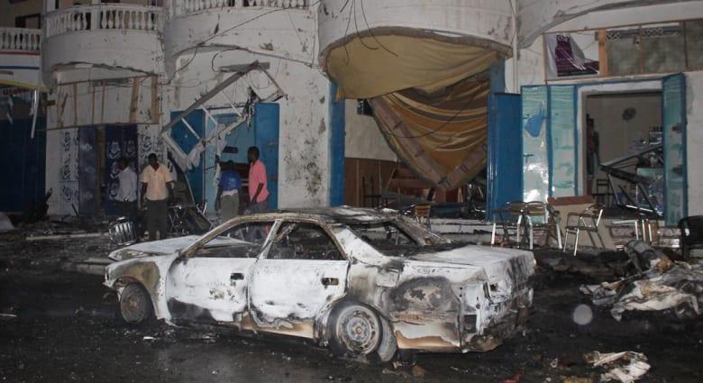 الصومال.. 5 قتلى بتفجير سيارة مفخخة في مقديشو أعقب تحذيراً أمريكياً من هجوم بإثيوبيا