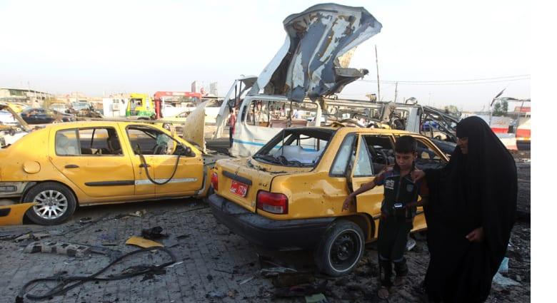 26 قتيلا حصيلة تفجيرات الجمعة في بغداد