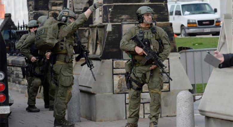 مصادر لـCNN: مطلق النار في أوتاوا كندي اعتنق الإسلام وكان ينوي السفر للخارج للقتال
