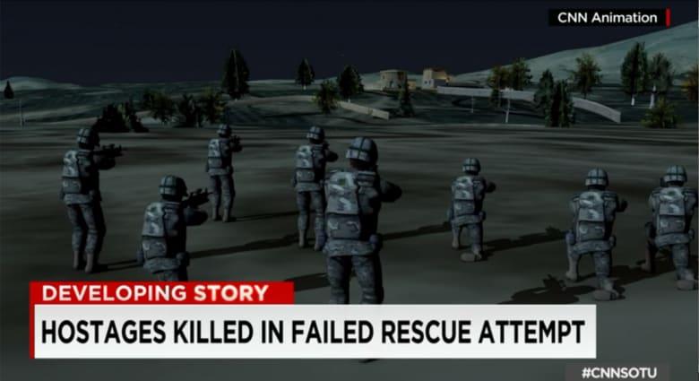 رئيس لجنه الاستخبارات التابعة للكونغرس يتحدث لـCNN عن محاولة انقاذ الرهينتين باليمن