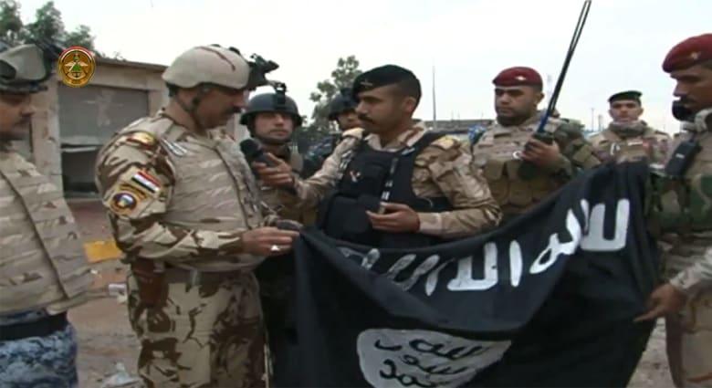 بالفيديو.. مركبات تحمل لوحات سعودية بيد داعش واستمرار تقدم القوات العراقية بمعاقل التنظيم