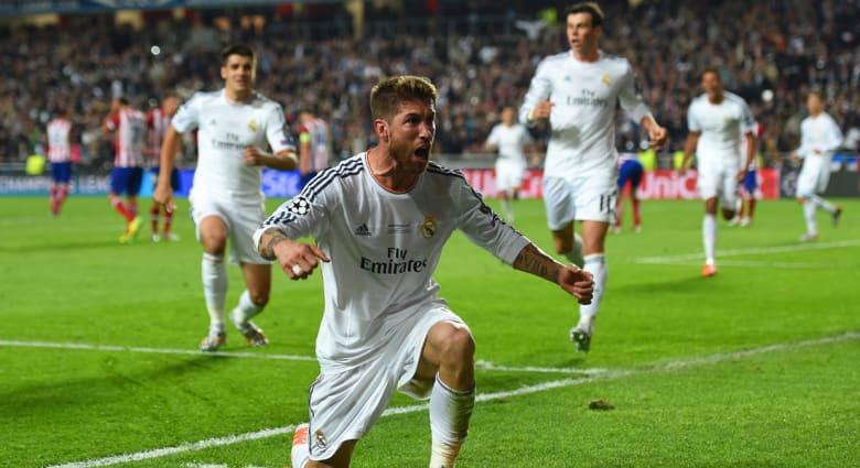 ريال مدريد ينتزع لقب أبطال أوروبا بـ4 أهداف مقابل هدف لاتليتيكو مدريد