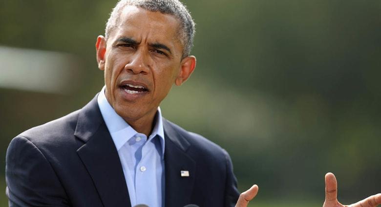 """أوباما: تقدم داعش كان أسرع من المتوقع وندرس إنشاء """"ممر آمن"""" لتنقل النازحين شمال العراق"""