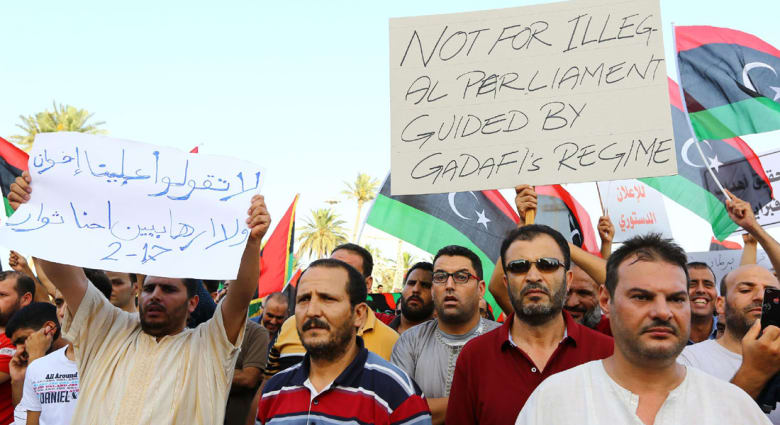 """البرلمان الليبي مدافعا عن قرار """"التدخل الدولي"""": لم تكن الغاية الإستقواء بالأجنبي"""