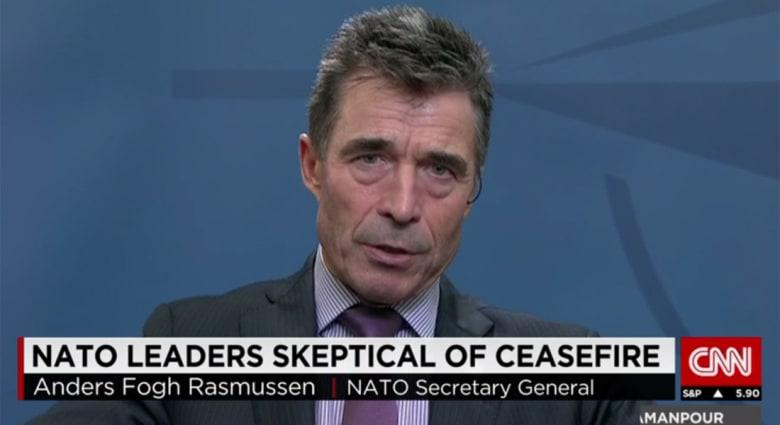 أمين عام الناتو لـCNN: لا دور لنا بمواجهة داعش دون طلب عراقي.. وتركيا ستغيّر موقفها من محاربة التنظيم