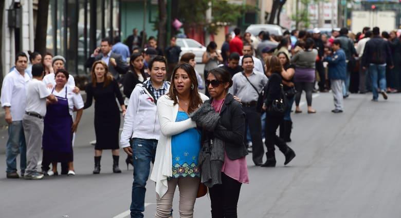 زلزال بشدة 6.4 ريختر يضرب جنوب المكسيك ولا أنباء عن ضحايا