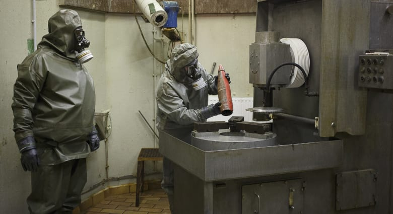 السعودية: قلقون من التأخر والمماطلة بنقل الكيماوي السوري