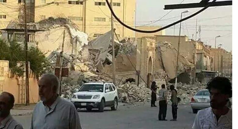 بعد تفجير مسجدي النبي يونس والإمام عون .. داعش تفجر مسجد النبي شيث