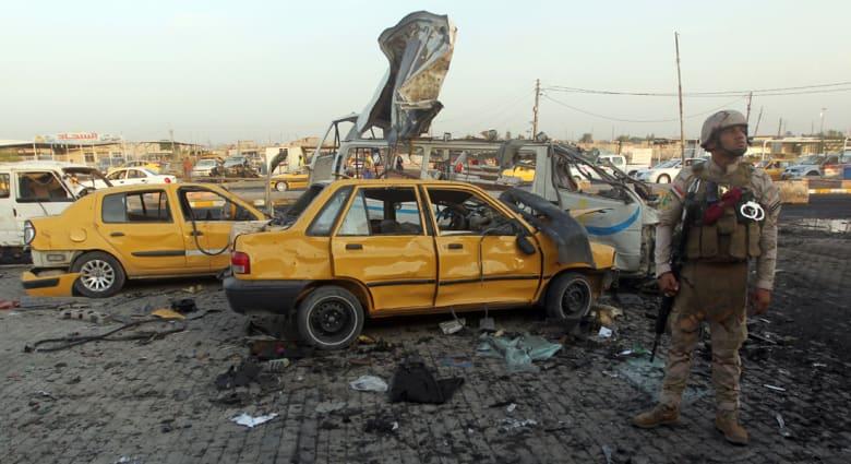 """العراق: عشرات القتلى والجرحى في موجة تفجيرات تبناها """"داعش"""" استهدفت ضاحية شيعية ببغداد"""