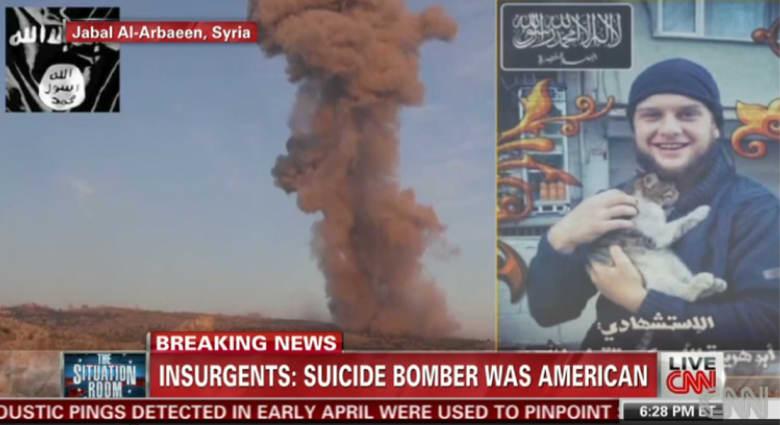 """واشنطن تكشف هوية الانتحاري """"أبوهريرة الأمريكي"""""""