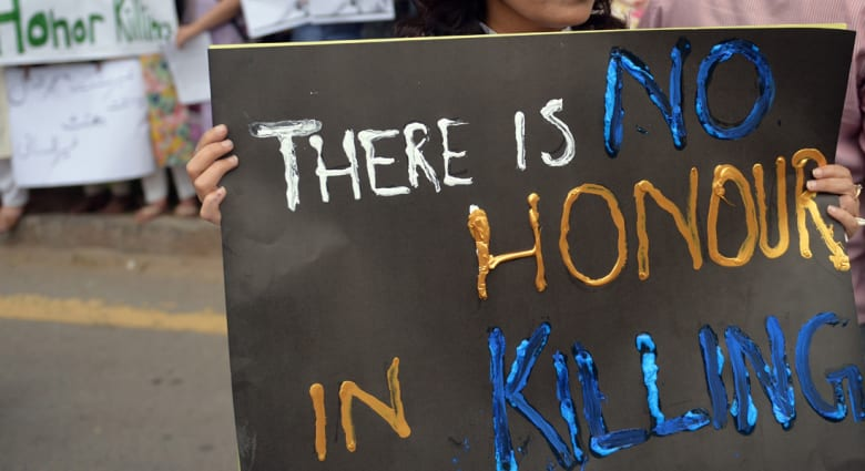 باكستان تعتقل زوج وشقيق وابن عمّ امرأة رجمت حتى الموت
