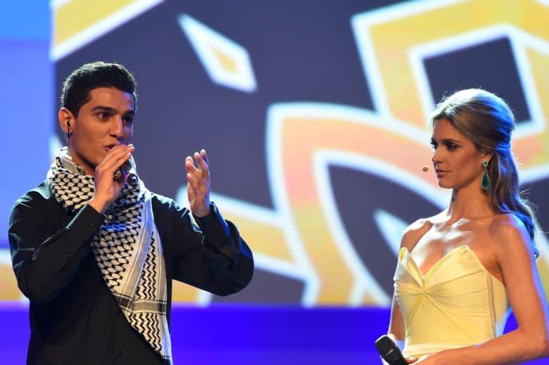 """""""يلاّ يلاّ"""" لـ محمد عساف أول أغنية عربية تخترق جدران الفيفا بالبرازيل"""