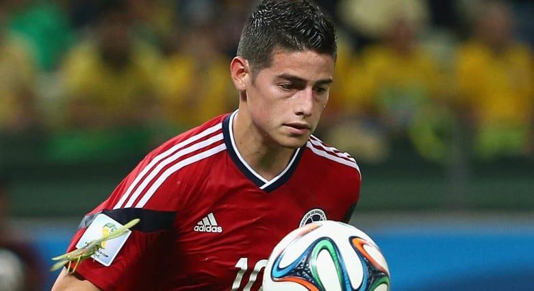 الكولومبي جيمس رودريغيز إلى ريال مدريد مقابل 107 ملايين دولار