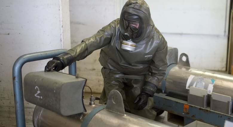"""الجيش السوري يهزم """"داعش"""" في جبل الشاعر ويستعيد حقول النفط والغاز"""