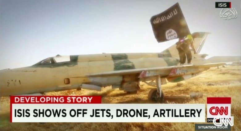 مسؤول أمريكي سابق لـCNN: ما يقلقنا هو احتمال وجود صواريخ أرض جو مع داعش..والسؤال الأهم عن قدرتهم على تشغيل الطائرات المقاتلة