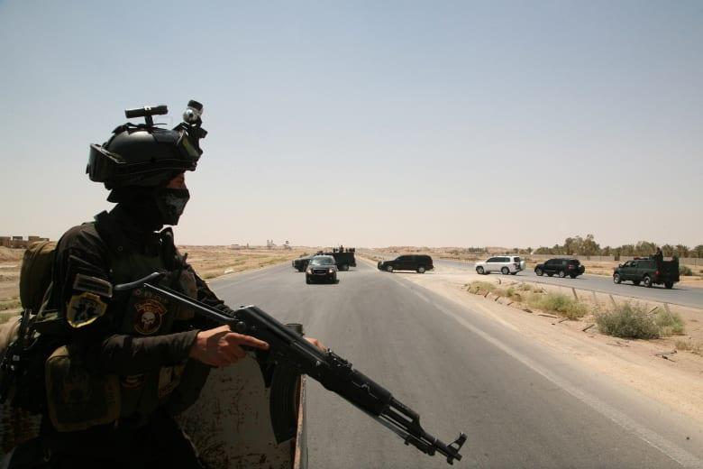 ذبح 16 من حرس الحدود عند المعبر الوحيد مع سوريا الخاضع لسيطرة القوات العراقية