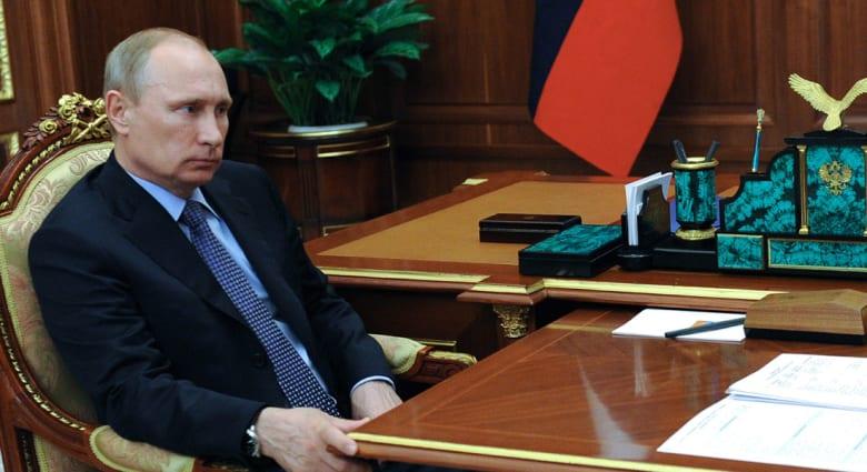 الرئيس الفرنسي: بوتين يريد النفوذ ولا يريد ضم شرق أوكرانيا لروسيا