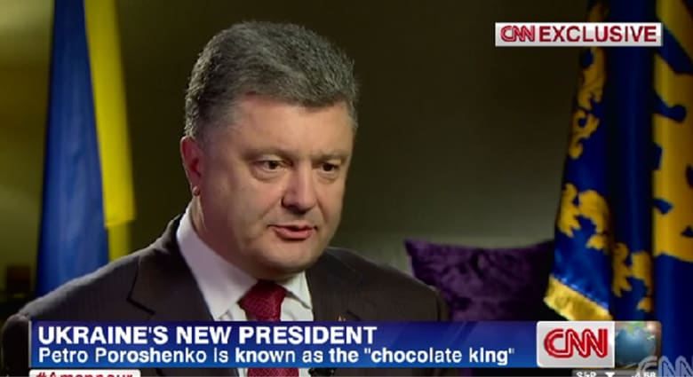 رئيس أوكرانيا الجديد بأول مقابلة مع CNN: السلام مرتبط بمزاجية بوتين