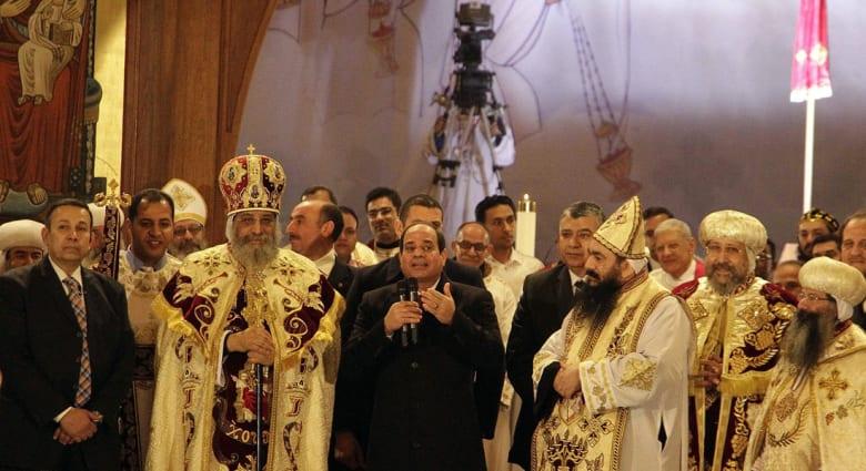 """الكنيسة القبطية تنفي إصدار تعليمات للمسيحيين لدعم السيسي بمواجهة """"الإسلام السياسي"""""""