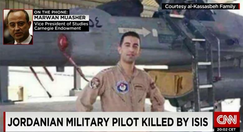 المعشر لـCNN بعد قتل الطيار الكساسبة: على الأردن المضي قدما في قتاله داعش